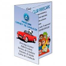 Carnet de Conducir para niños Pekecars