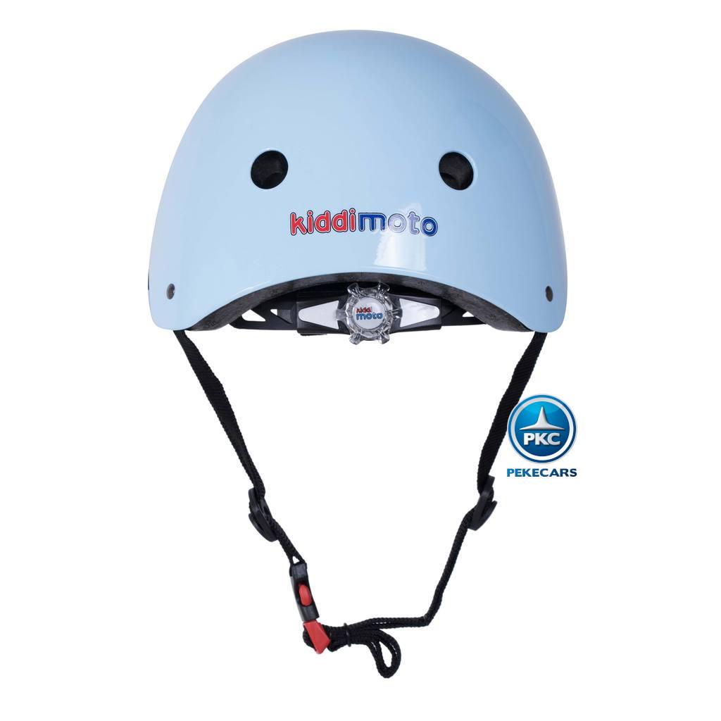 Casco para niños Retro Azul Pequeño con Gafas Pintadas con rueda de ajuste