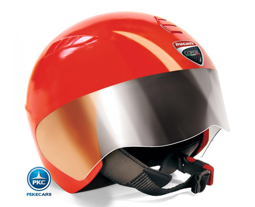 Casco para niños Ducati Rojo vista principal
