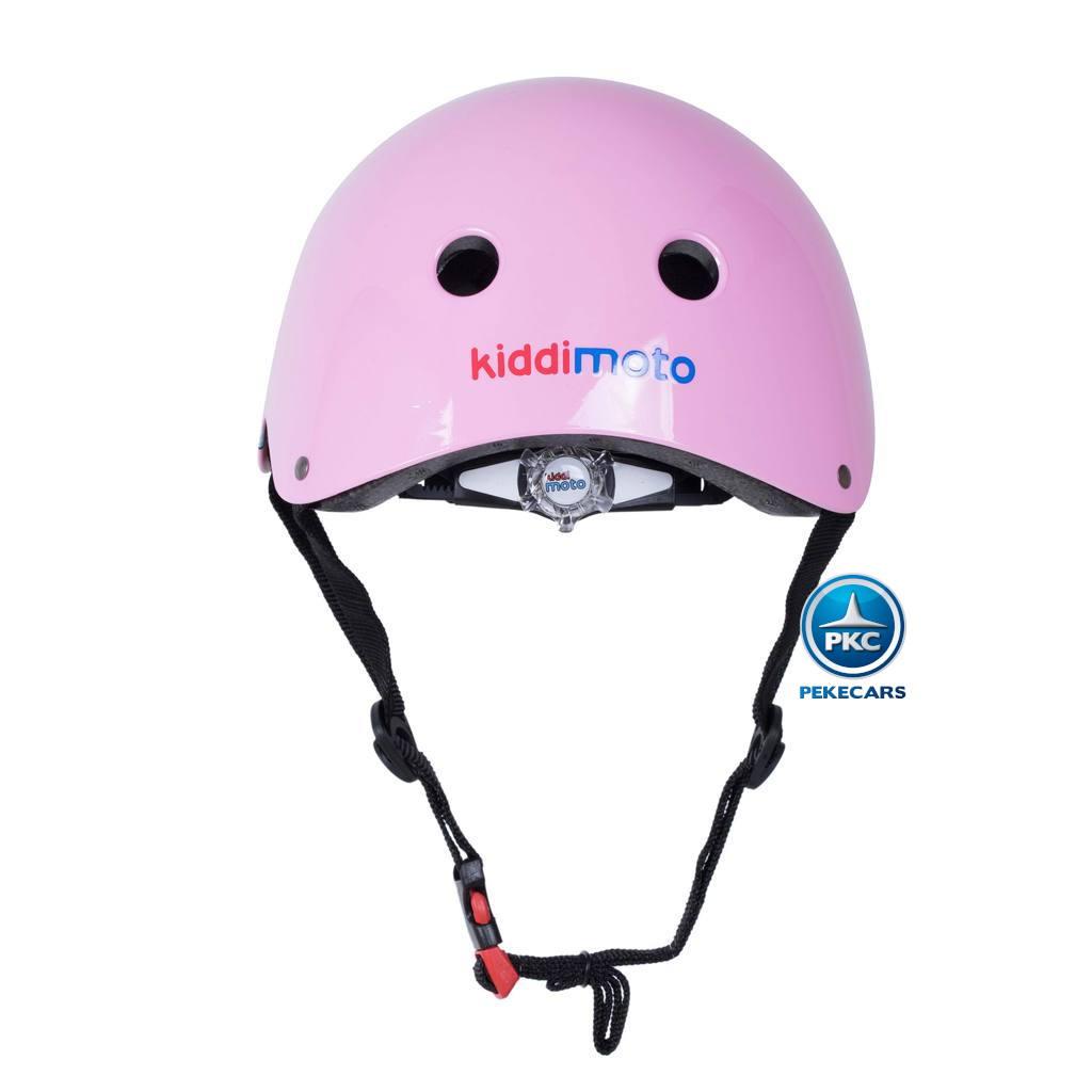 Casco para niños Retro Rosa Pequeña con Gafas Pintadas con rueda de ajuste