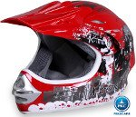 Casco Cross Helm Rojo