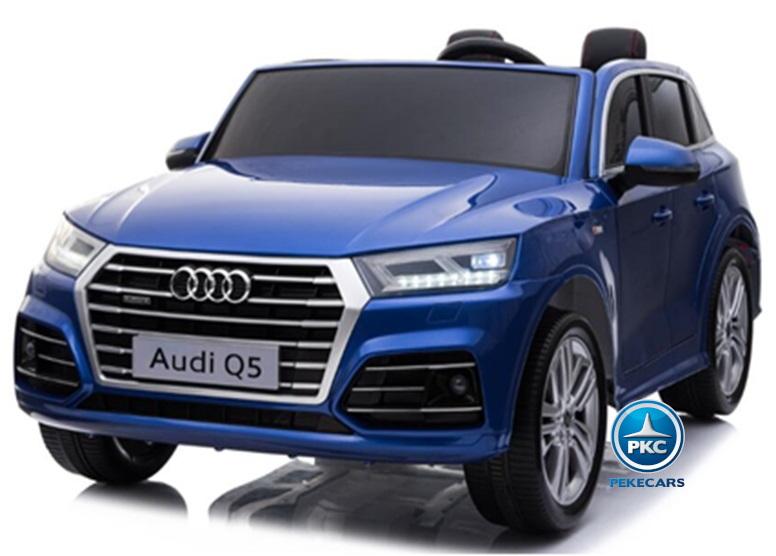 Audi Q5 2 plazas 24V azul metalizado
