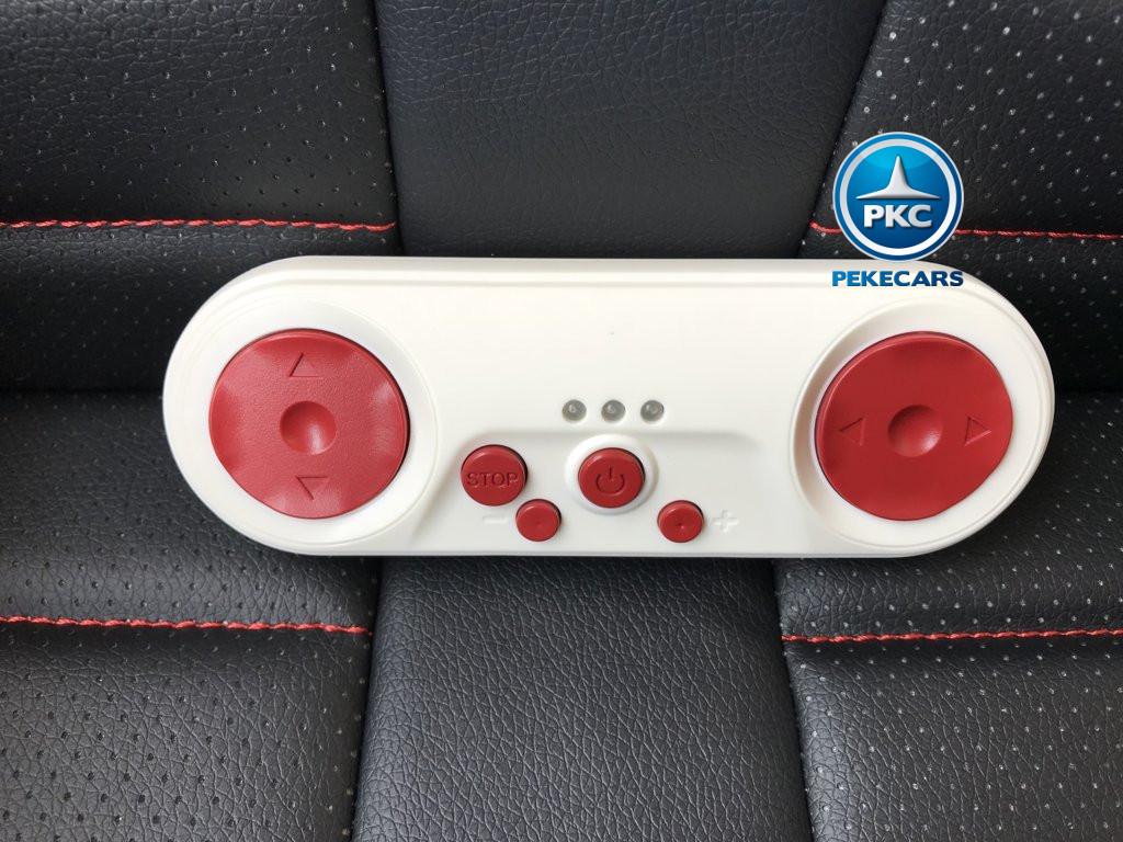 Coche electrico para niños Audi Q5 Blanco con mando radiocontrol