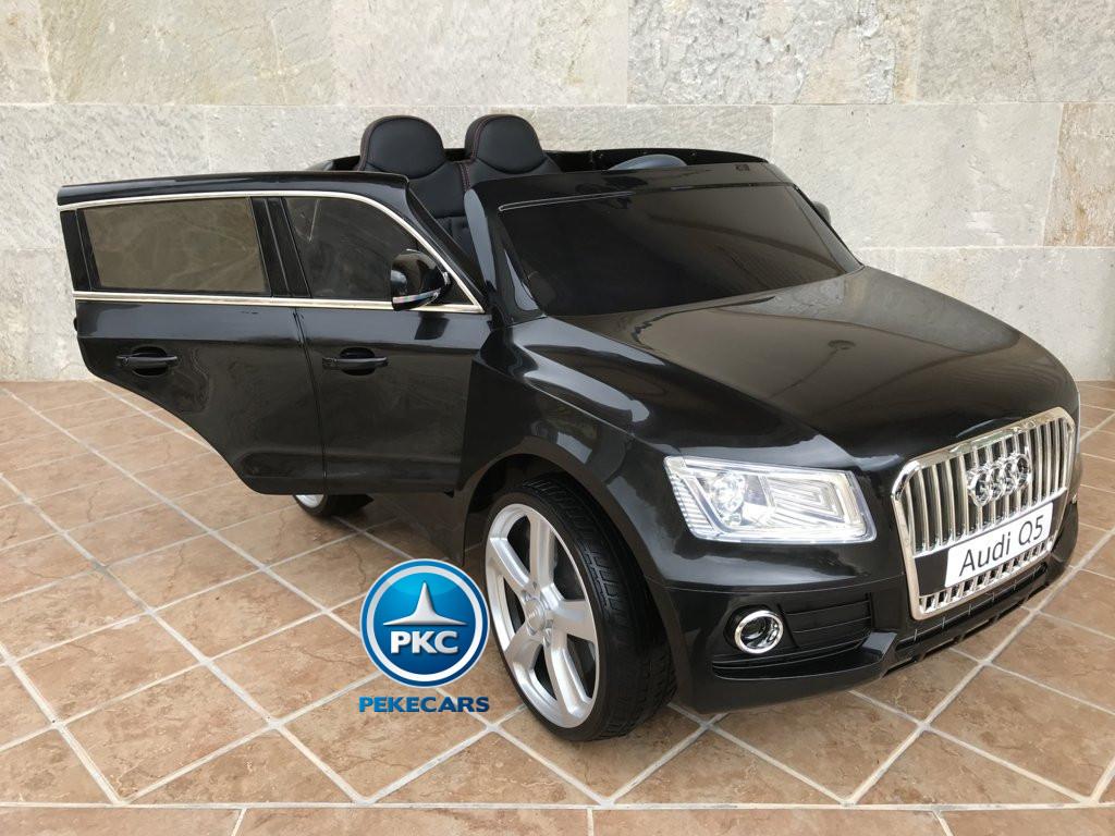 Coche electrico infantil Audi Q5 12V Negro metalizado