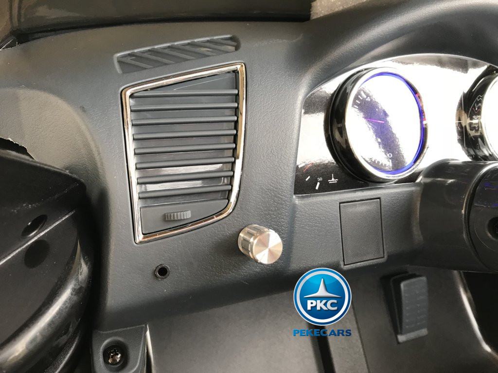Coche electrico para niños Audi Q5 Negro metalizado conexion para MP3