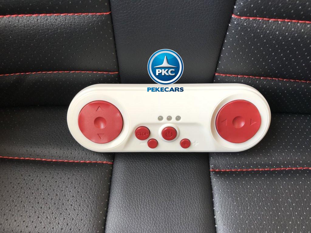 Coche electrico para niños Audi Q5 Negro metalizado con mando radiocontrol