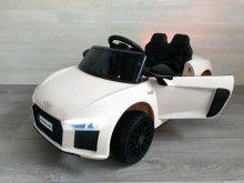 Coche electrico para niños Audi Little R8 Spyder Blanco vista principal