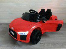 Coche electrico para niños Audi Little R8 Spyder Rojo vista principal
