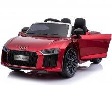 Coche eléctrico para niños Audi Little R8 Spyder Rojo Metalizado vista principal