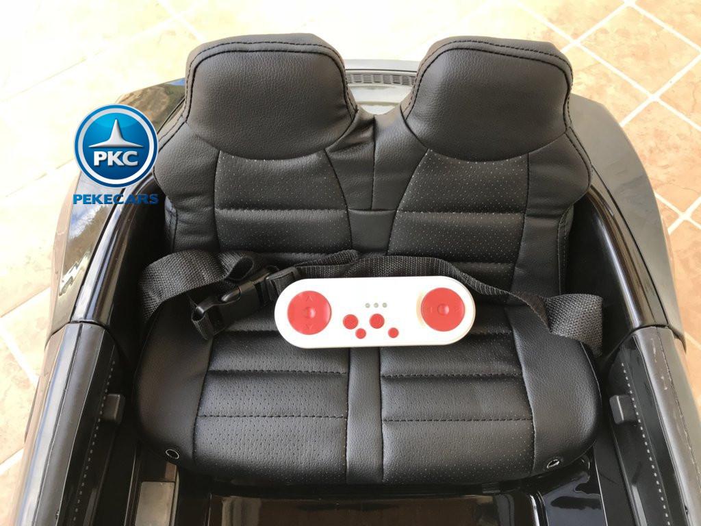 Coche electrico infantil Audi Little R8 Spyder Negro mando radiocontrol