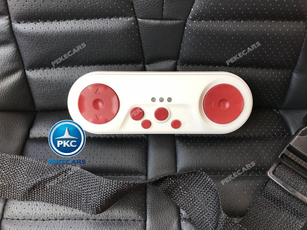 Coche electrico infantil Audi Little R8 Spyder Rosa con mando radiocontrol