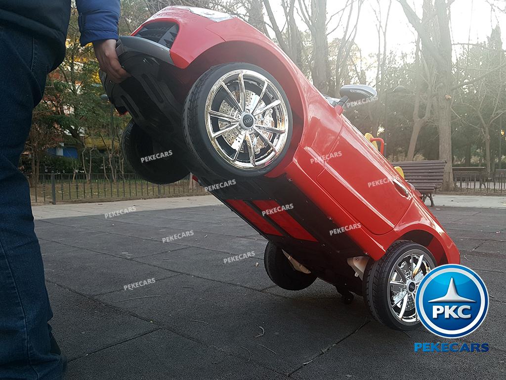 Coche Eléctrico para Niños Audi RS5 Rojo con Capota