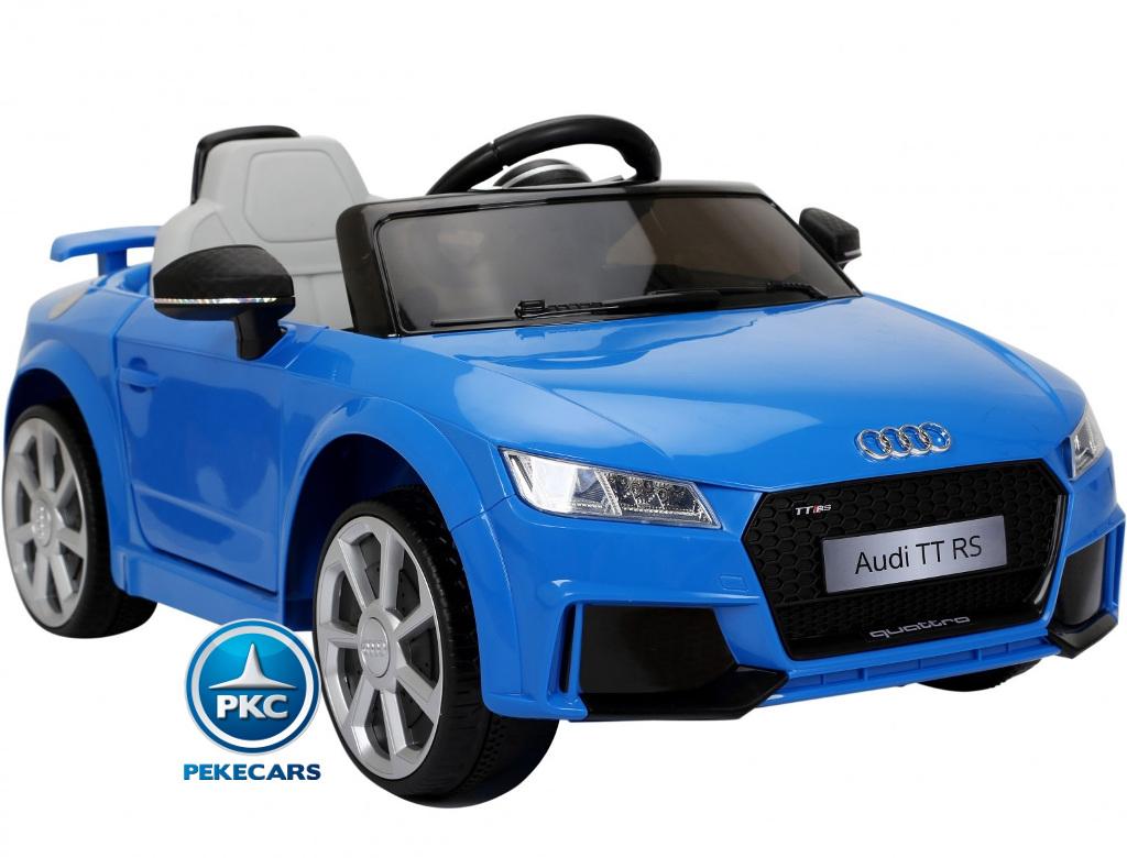 Coche electrico para niños Audi TT Azul