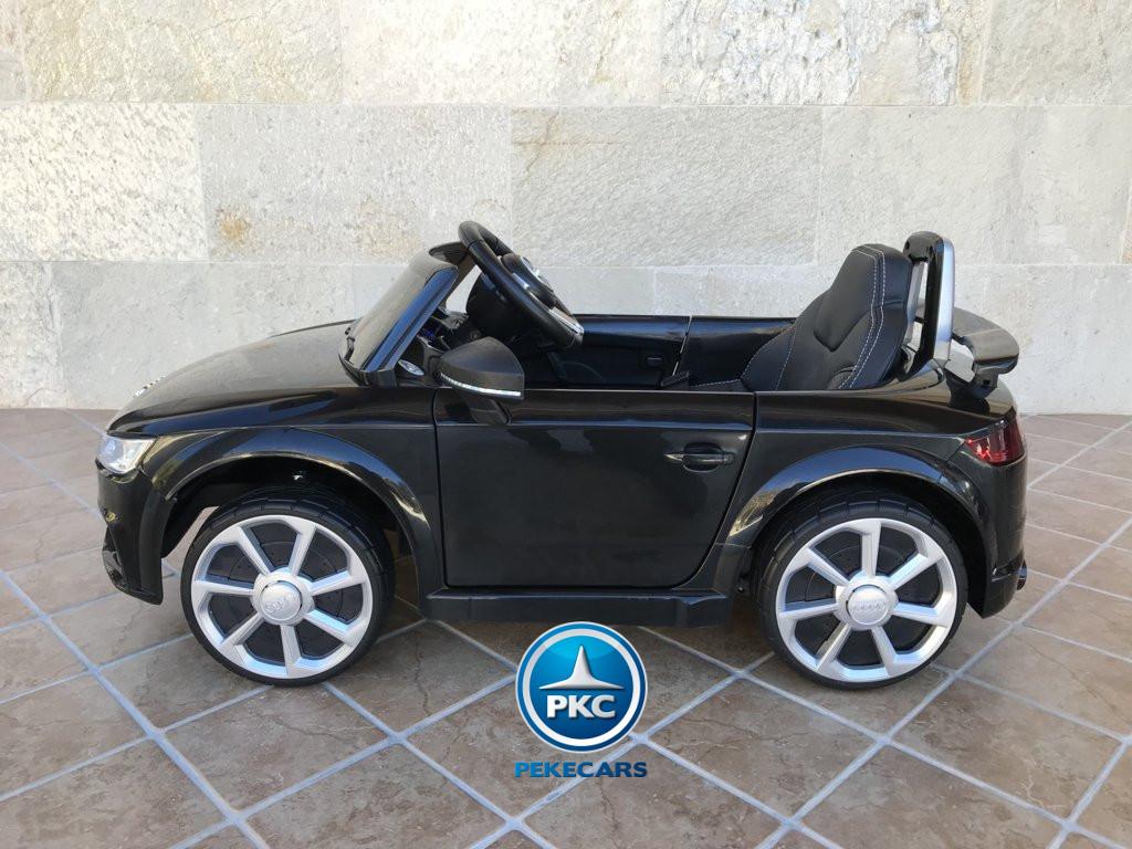 Coche electrico para niños Audi TT Negro