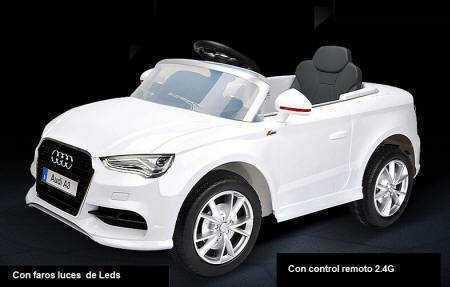 Pekecars Audi A3 12V 2.4G con doble pedal