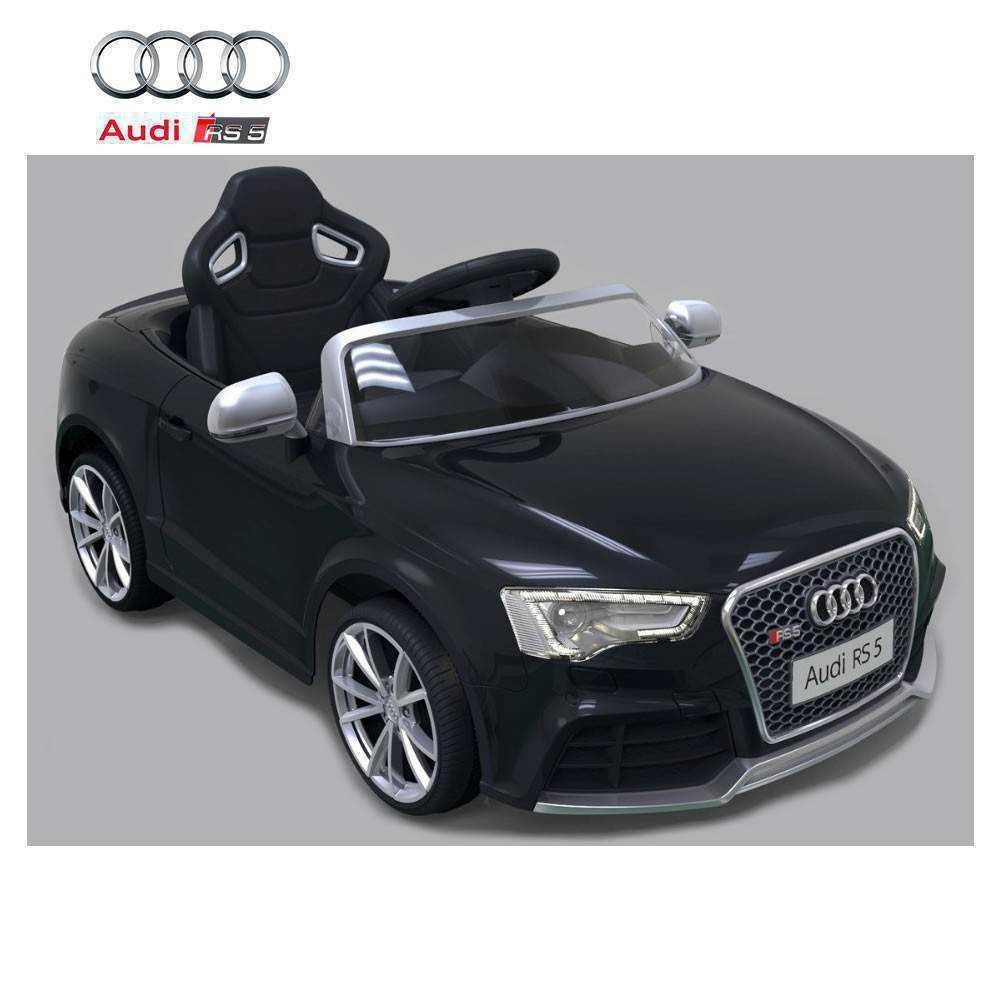 Audi rs5 negro con control remoto