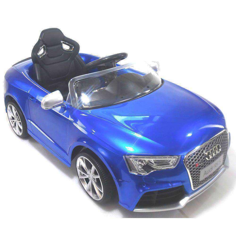 Audi rs5 azul con control remoto