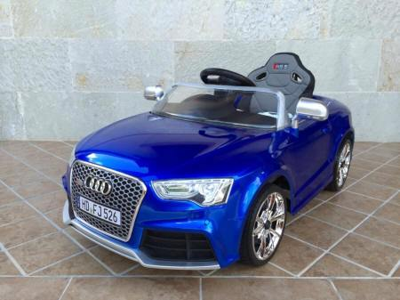 Audi RS5 azul de outlet