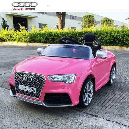 Audi rs5 rosa con control remoto