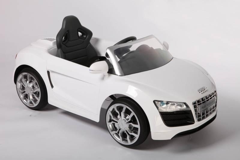 Audi R8 Spider Blanco 12v Para Ni 241 Os Pekecars