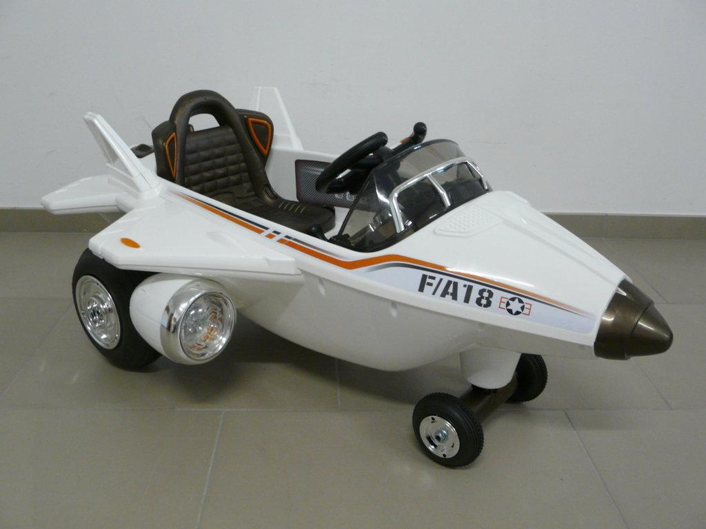 Avión infantil F-18 Blanco