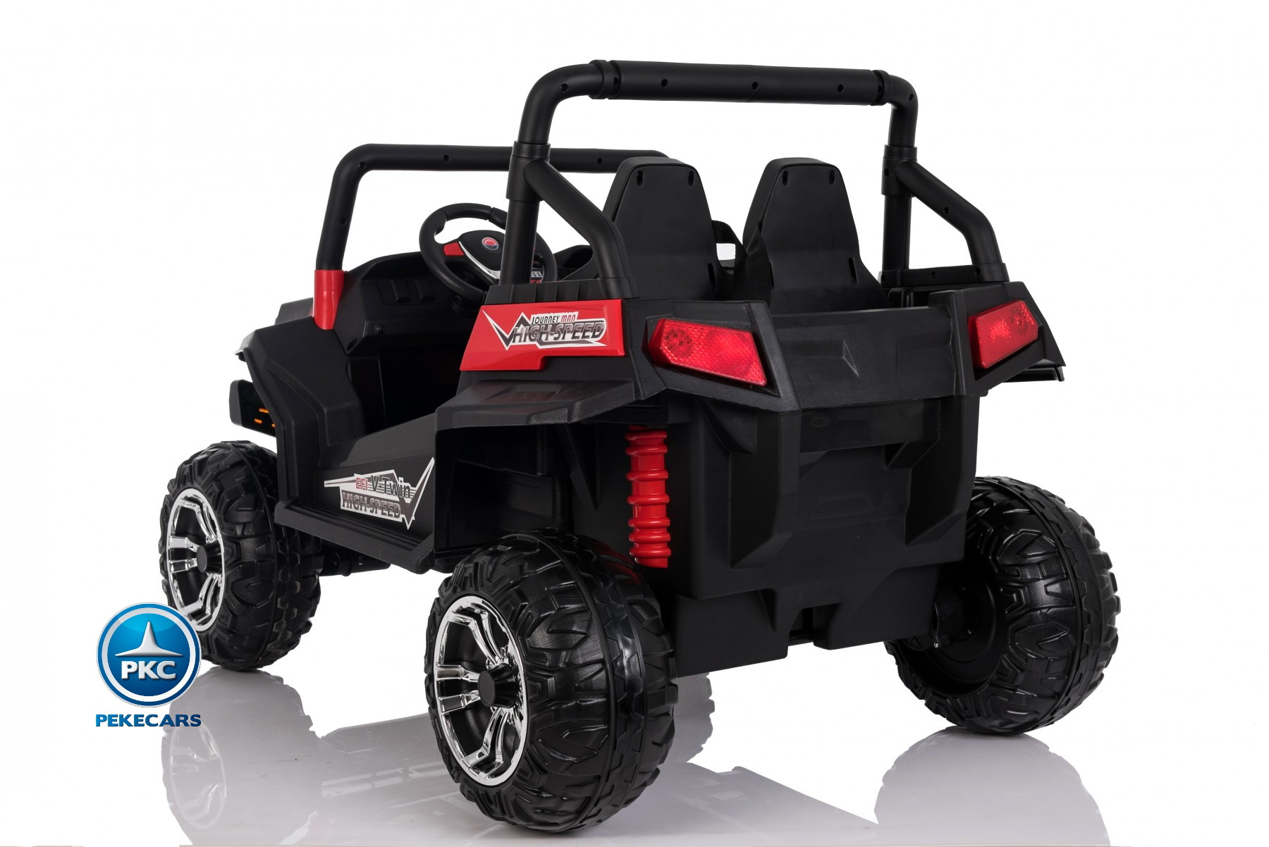 Beach Buggy 24V rojo