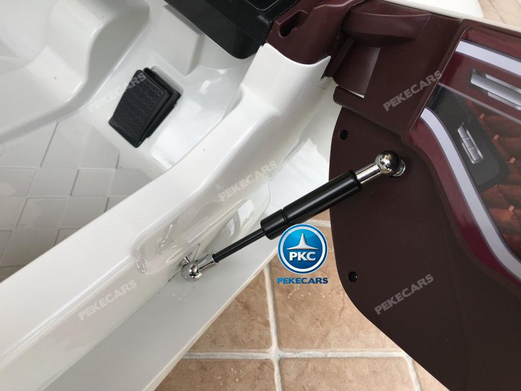 Coche electrico para niños Bentley EXP Blanco sistema lambo