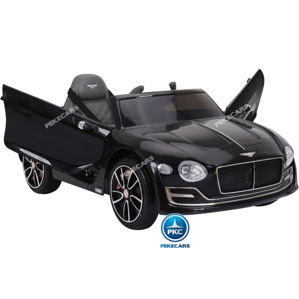 Coche electrico para niños Bentley EXP Negro con luces LED