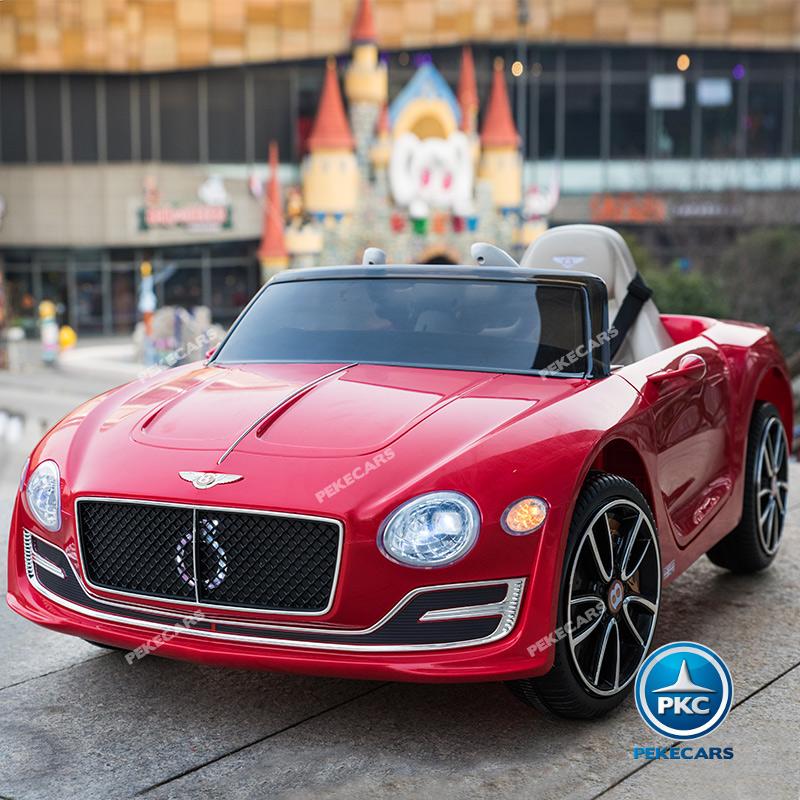 Coche electrico para niños Bentley EXP Rojo vista principal
