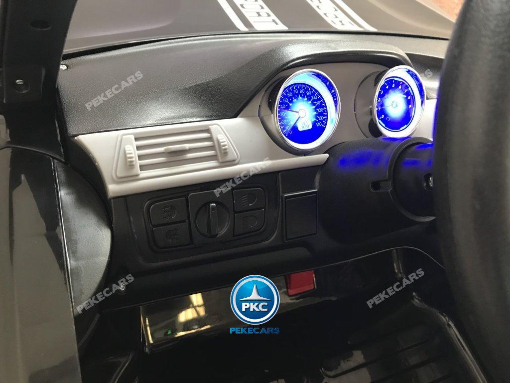 Coche electrico infantil BMW X7 Style 12V Negro con salpicadero iluminado