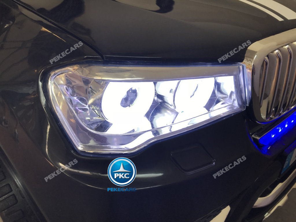 Coche electrico infantil BMW X7 Style 12V Negro con luces LED