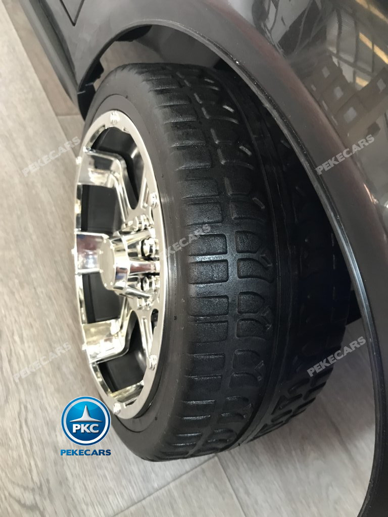 Coche electrico para niños BMW X7 Style 12V Negro con ruedas de caucho antipinchazos