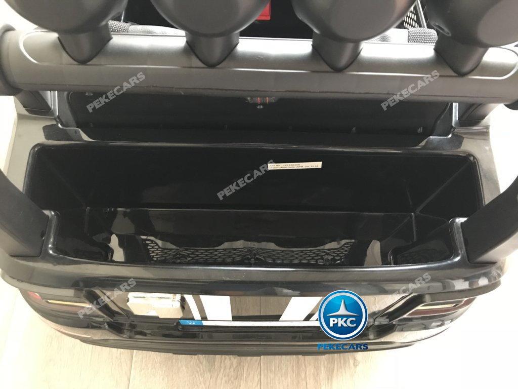Coche electrico infantil BMW X7 Style 12V Negro con amplio maletero