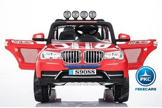 Coche electrico para niños BMW X7 Style 12V Rojo con apertura de puertas
