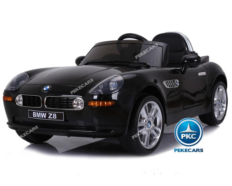 Coche eléctrico para niños BMW Z8 12V Negro vista principal