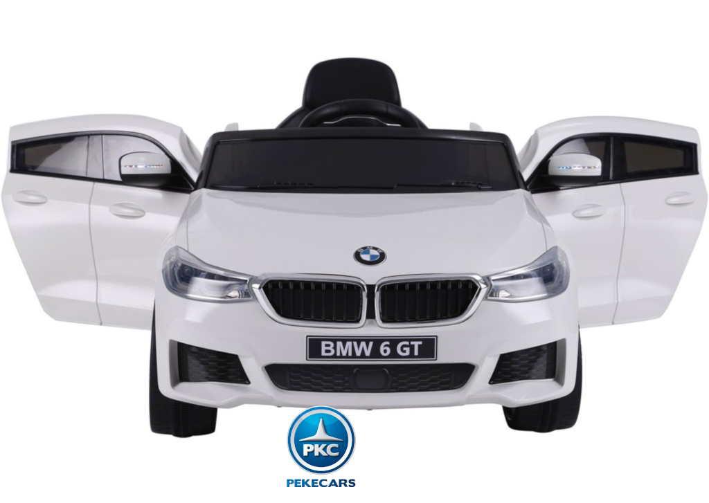 Coche electrico infantil BMW 6 GT 12V Blanco
