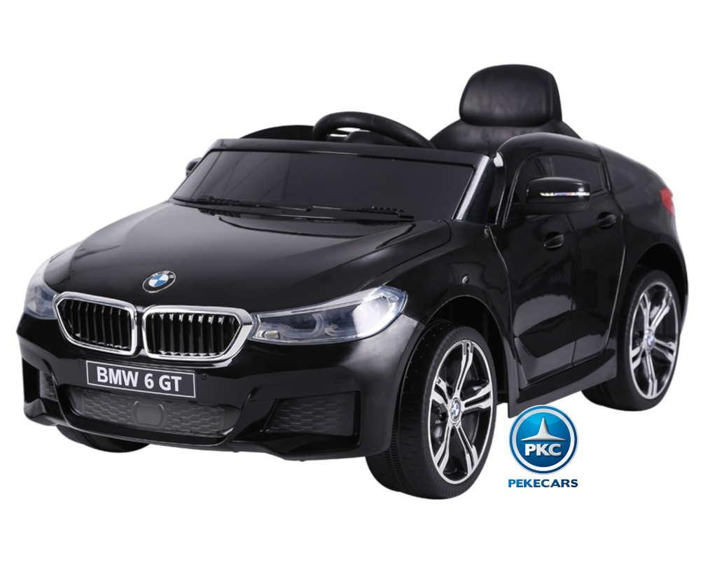 Coche electrico para niños BMW 6 GT 12V Negro vista principal