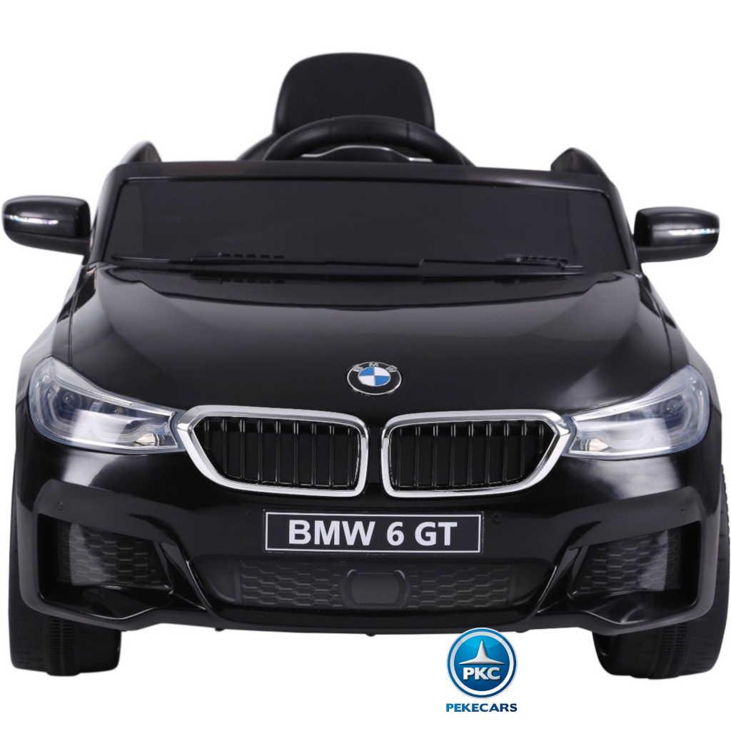 Coche electrico para niños BMW 6 GT 12V Negro