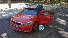 Coche electrico para niños BMW 6 GT 12V Rojo vista principal