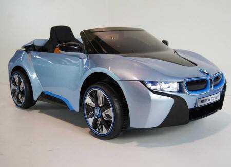 BMW i8 azul 12V para niños