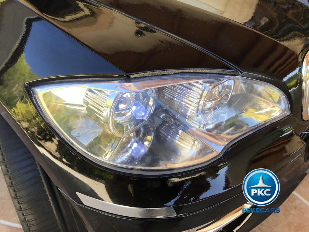 Coche electrico para niños BMW X6 Negro Metalizado luces LED delanteras