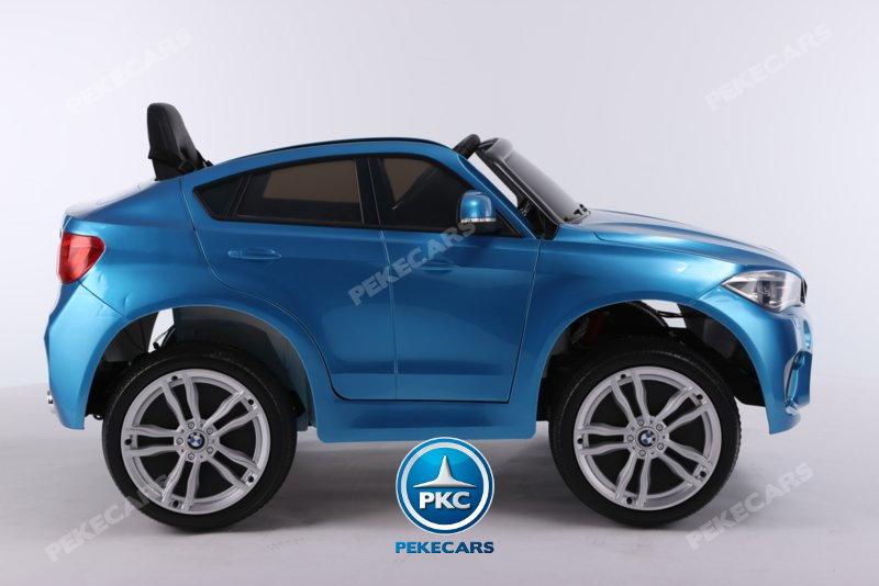 Coche electrico infantil BMW X6M Azul Metalizado