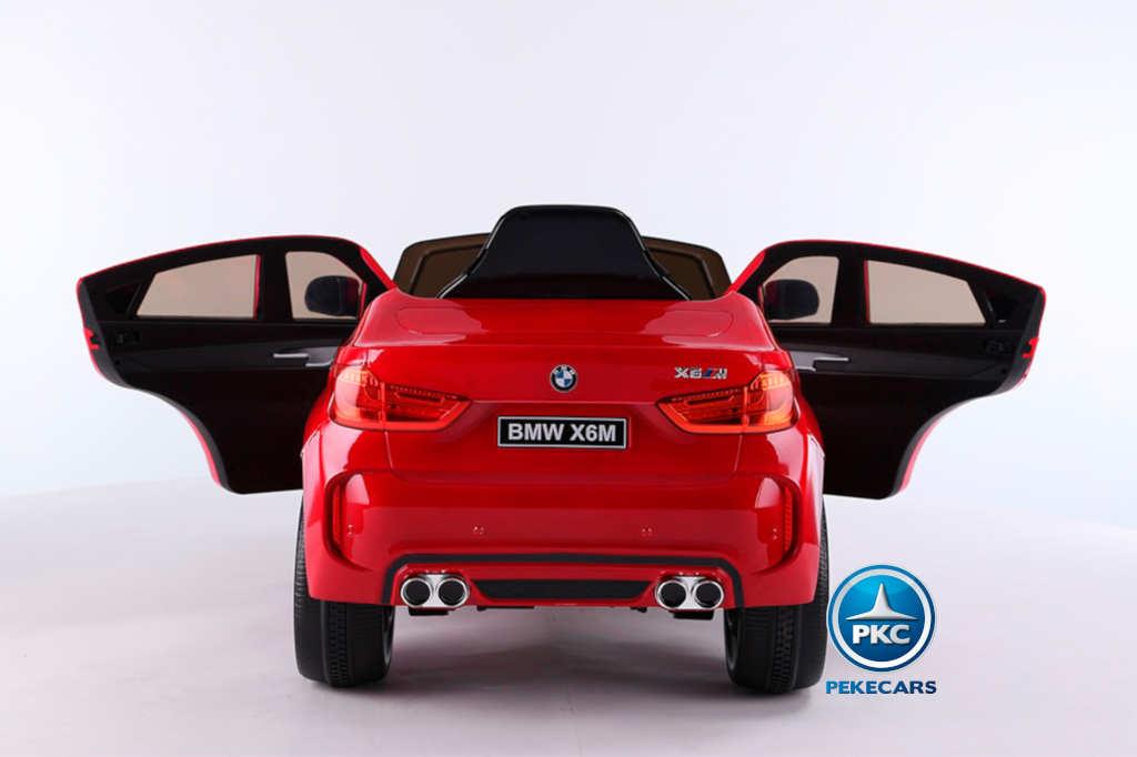 Coche electrico infantil BMW X6M Rojo