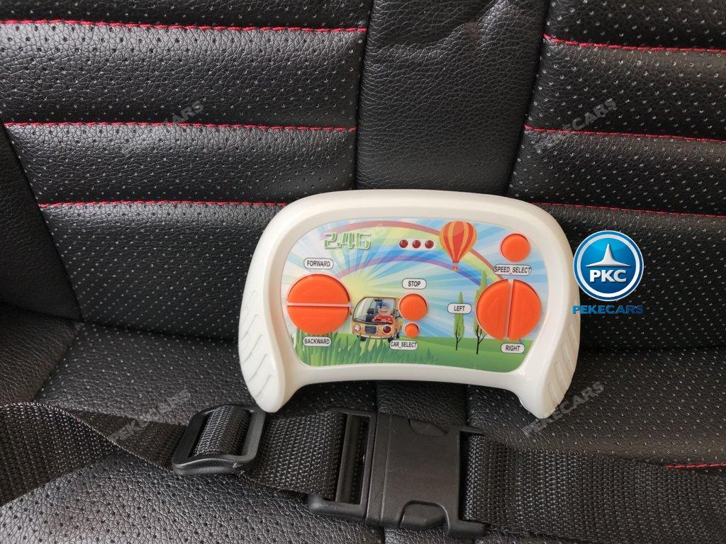 Coche electrico para niños Buggy UTV Blanco con mando radiocontrol