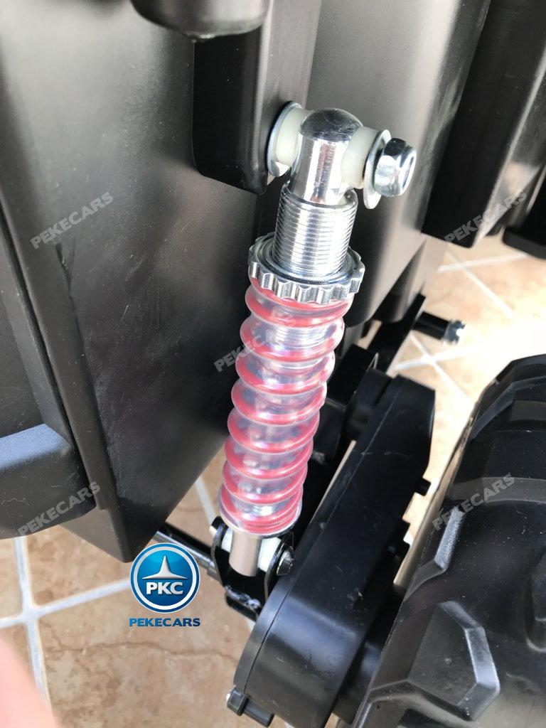 Coche electrico infantil Buggy UTV Blanco con suspension a las cuatro ruedas