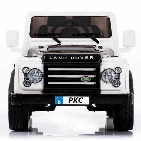 Landrover defender white