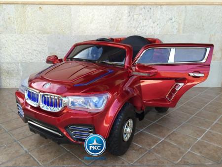 BMW x3 style para niños burdeos metalizado Pekecars