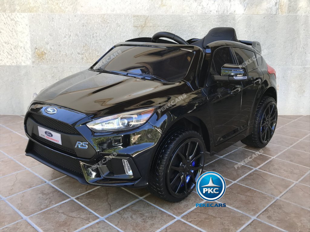 Coche electrico infantil Ford Focus RS Negro