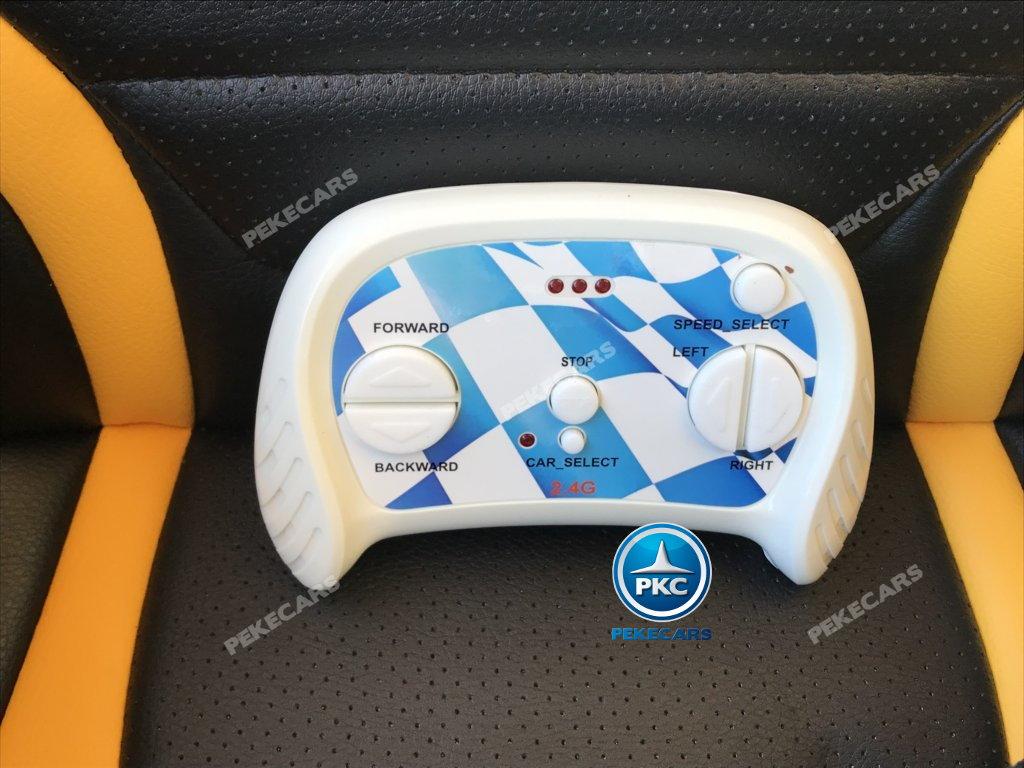 Coche electrico para niños Ford Focus RS Negro mando radiocontrol