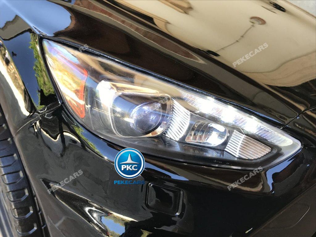 Coche electrico infantil Ford Focus RS Negro luces led